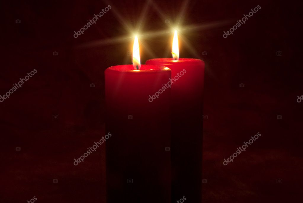 Peaceful candlelight — Stockfoto #2224314