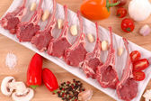 Lamb Chops — Stock Photo