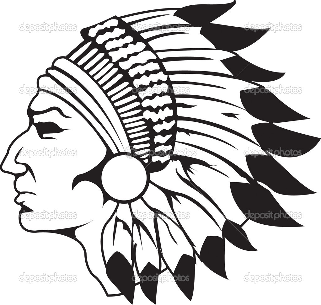 coloring pages indian chief - photo#12