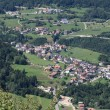 Village in Val di Non (Trentino) - Stock Photo