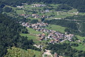 Village in Val di Non (Trentino) — Stock Photo