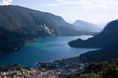 Lake Molveno — Stock Photo