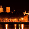 Palace of the Popes - Avignon — Stock Photo