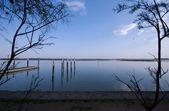 Bibione lagoon — Stock Photo