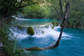 Waterfall - plitvice lakes — Stock Photo