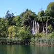 Stock Photo: Waterfall - plitvice lakes