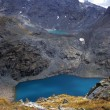 Stock Photo: Alpine lakes