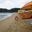 The beach of Fetovaia - Elba — Stock Photo