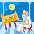 Greek astronomer - Stock Vector