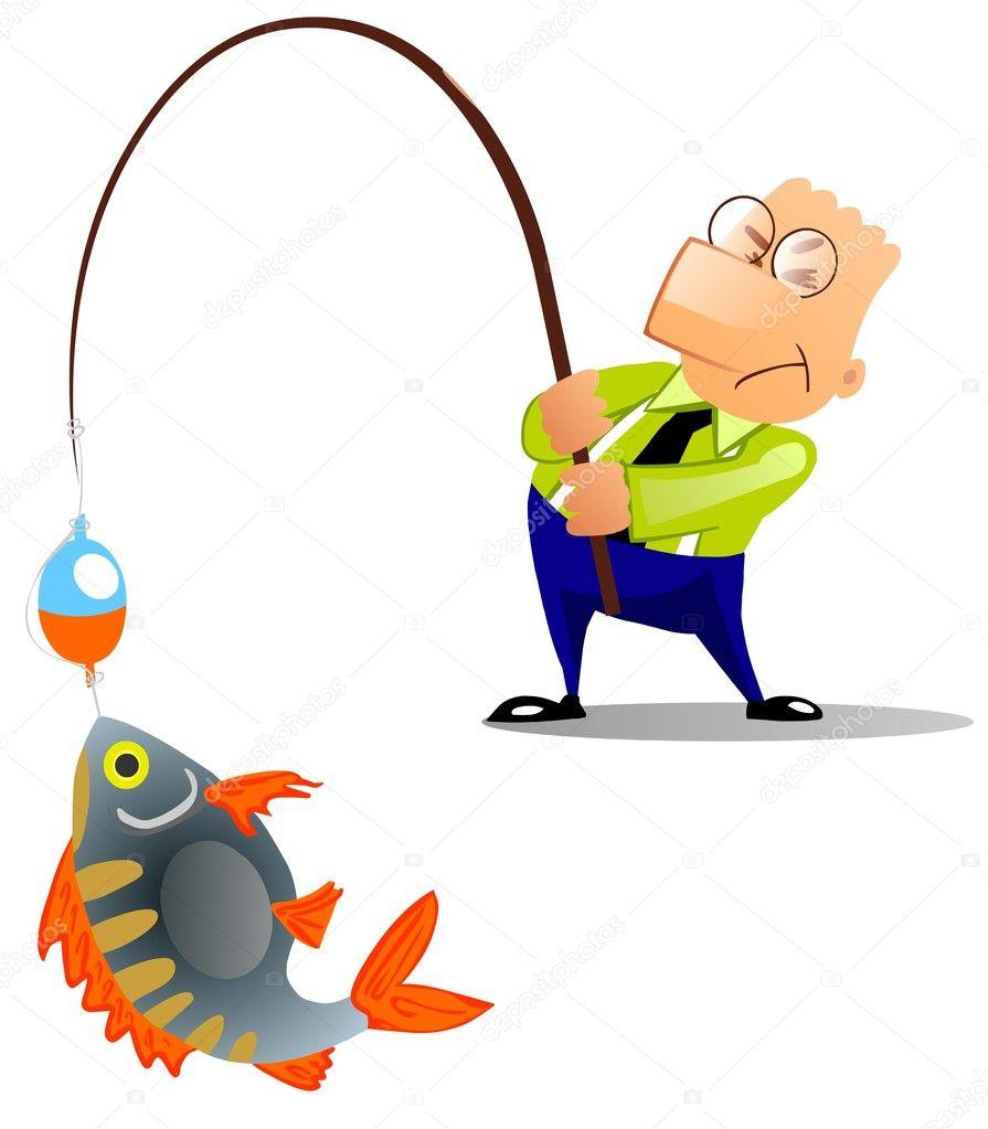 Man caught a big fish stock photo regisser com 2632963 for Big fish script