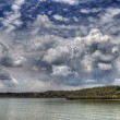Storm Clouds move in over Lake — Stock Photo #2217332