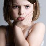 Sad Looking Child — Stock Photo #2338244