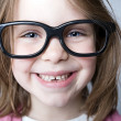 Royalty-Free Stock Photo: Happy Geeky Child Smiling at the Camera