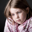 Stock Photo: Shot of Young Child Looking Sad