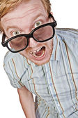 The Angry Geek — Stock Photo