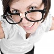 Cute Nerdy Female — Stock Photo #2363654