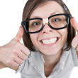 Geeky Female - Stock Photo