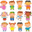 Stock Vector: Kids