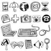 Computer Symbols. — Stock Vector