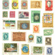 Post stamps — Stock Photo