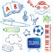 Royalty-Free Stock Vector Image: Set of doodles