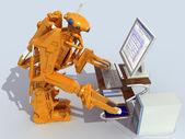 Robot. — Stock Photo