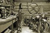 Garage. — Stockfoto