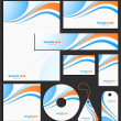 Royalty-Free Stock Vektorgrafik: Letterhead template design