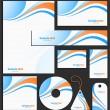 Letterhead template design — Stock Vector