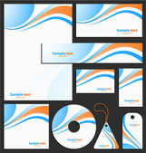 Letterhead template design — Stockvektor
