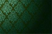 Vector seamless floral wallpaper — Vetor de Stock