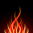 Stock Vector: Vector fire