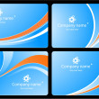 Royalty-Free Stock Vector Image: Business cards set3