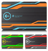 Business cards (set6) — Stock vektor