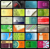 Business cards (set 8) — Stockvector