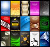 Business cards (set 10) — Wektor stockowy