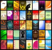 Visitekaartje (set 13) — Stockvector