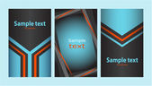 Business card (set 14) — Stock Vector
