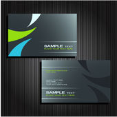 Business cards set 25 — Stockvektor