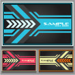 Business cards set 37 — Stock Vector #2495515