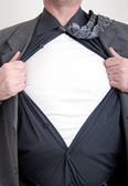 Business superhero — Stock Photo