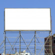 Blank billboard 06 — Stock Photo