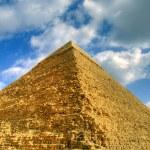 Piramida hdr 01 — Zdjęcie stockowe