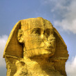 Royalty-Free Stock Photo: Sphinx head HDR