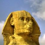 Sphinx head HDR — Stock Photo #2223510