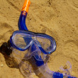 Stock Photo: Snorkel gear