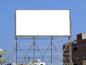 Blank billboard 06 — Stock Photo