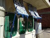 Hurghada disused shop — Stock Photo