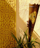 Hurghada hotel detail 01 — Stock Photo