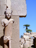 Karnak temple statue 05 — Stock Photo